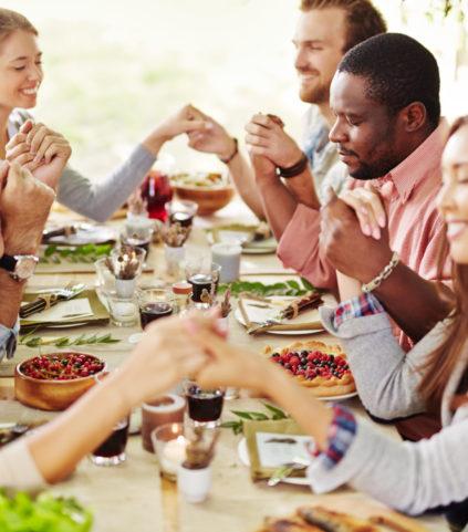 Thanksgiving pray